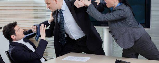 Violencia en el entorno laboral