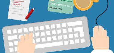 53% del personal hace compras navideñas online en el tiempo de trabajo