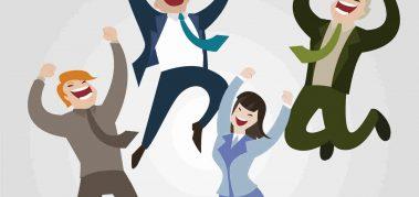 7 estrategias para mantener a los empleados felices en el trabajo